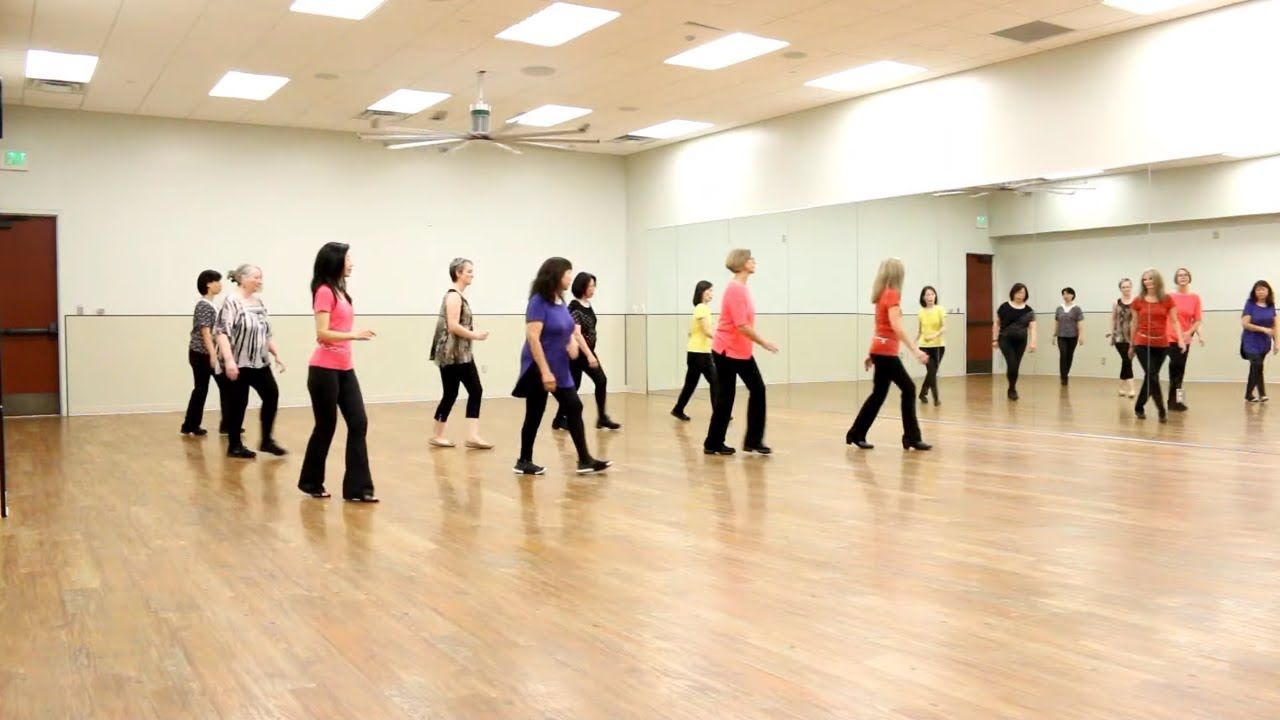 how to dance the mexican line dance