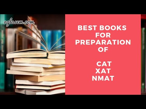 Best Books for CAT Preparation | CAT, XAT, NMAT | MBA in India
