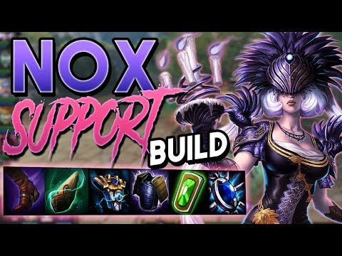 Smite: Nox Support Build - Conquest - HANDING OUT FREE WINS LEFT AND RIGHT!