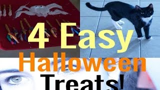 4 Easy DIY Halloween Snacks! Thumbnail