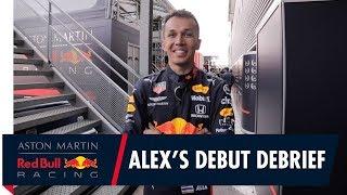 A debut to remember | Alex Albon talks you through his Belgian GP