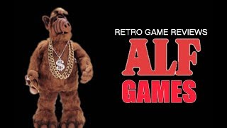 Retro Game Review - ALF Games (ft Snop Dog Network)