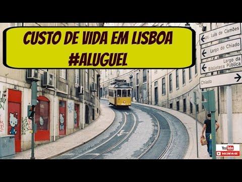 Custo de Vida em Lisboa  #Aluguel