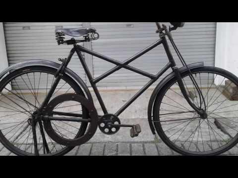 Sepeda Onthel Kuno antik tanpa rantai