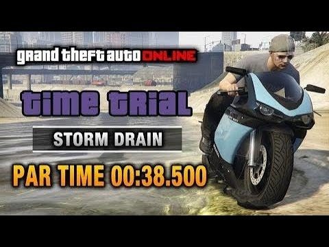 GTA Online | How to complete Storm Drain Time Trial