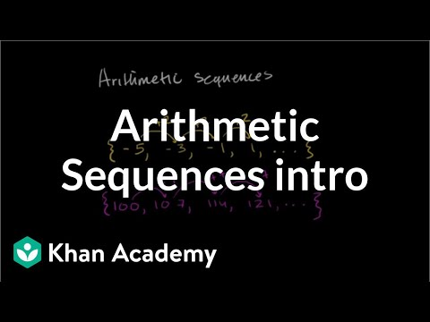 Introduction to arithmetic sequences | Sequences, series and