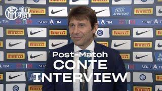 INTER 2-1 SASSUOLO | ANTONIO CONTE EXCLUSIVE INTERVIEW: