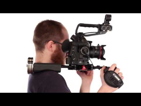 C-Shooter Rig For Canon C100, C300 Or C500 Cameras
