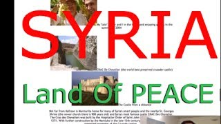 The Syria I know... The Land Of PEACE... #KafroonBook