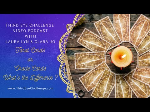 Episode 131 – Tarot or Oracle Cards: What's the difference?