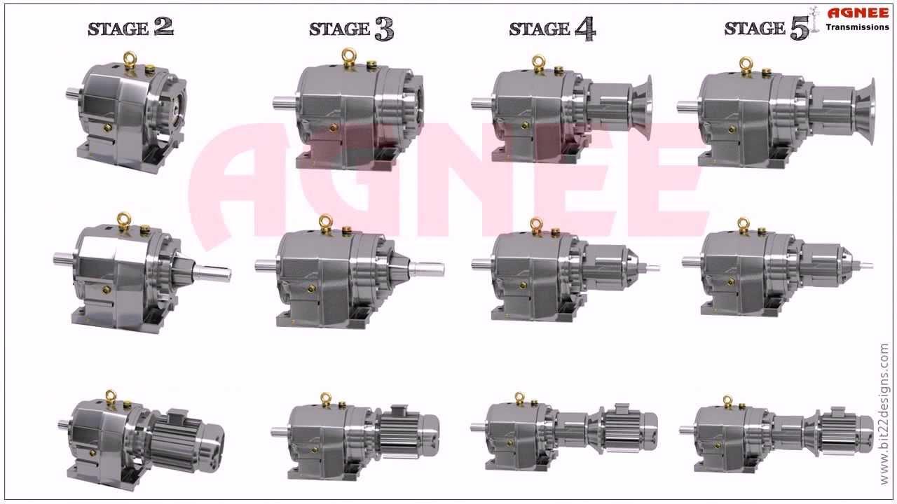 Inline helical geared motors helical gearmotor helical for Nord gear motor 3d model