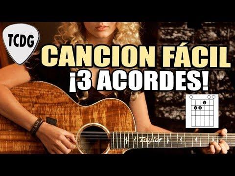Canción Fácil en Guitarra Para Principiantes ¡Solo 3 Acordes! SE ME OLVIDÓ OTRA VEZ