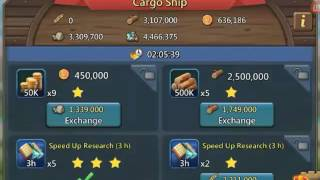Lords Mobile: Cargo ship has arived