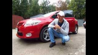 Тест драйв Toyota Auris 1.6 VVT-i (Тойота Аурис)