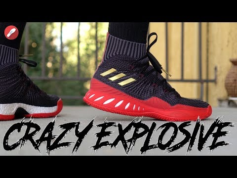 First Look New Colorway: Adidas Crazy Explosive 2017 Primeknit!