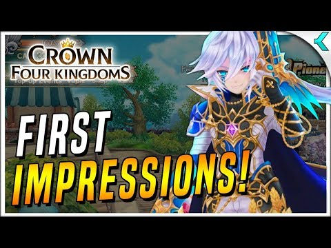 CROWN FOUR KINGDOMS | Here Let Me Play For You! First Impressions Gameplay