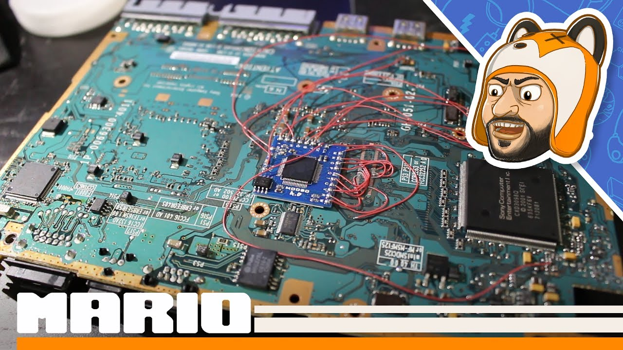 small resolution of ps2 slim modbo 4 0 modchip install overview demonstration