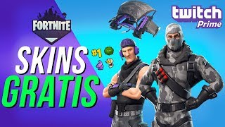 FREE SKINS FORTNITE | HOW TO ACHIEVE | TWITCH PRIME