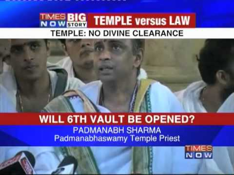 Temple: 6th vault won't be opened