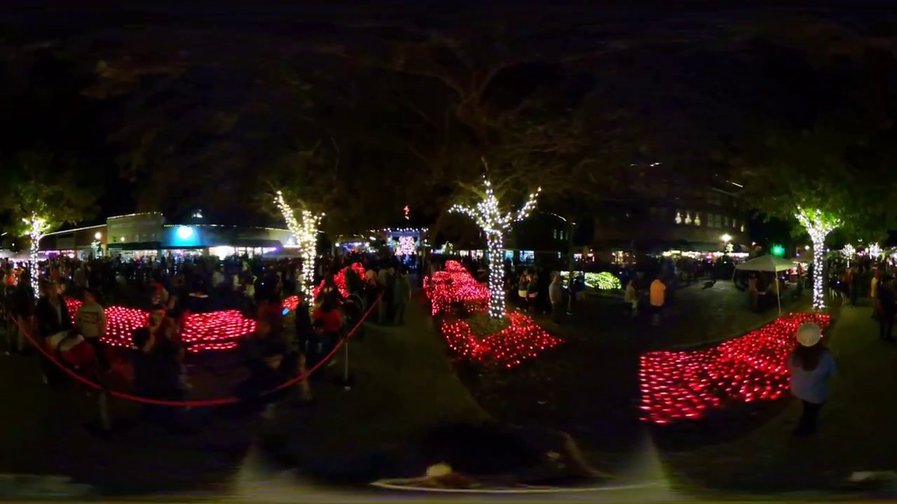 light up winter garden youtube
