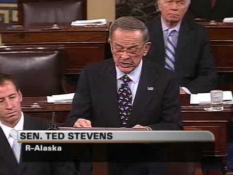 Sen. Ted Stevens (R-AK) Farewell Remarks on the Senate Floor