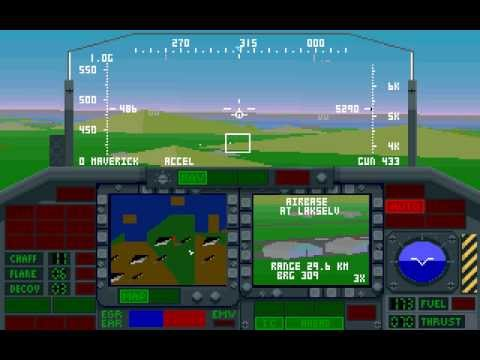 F-117A Stealth Fighter 2.0 (Missions 1-2) DOS ,Microprose