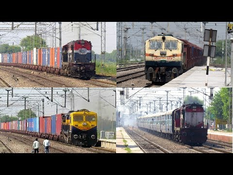[4 in 1] Diesel Trains Roaring at High...