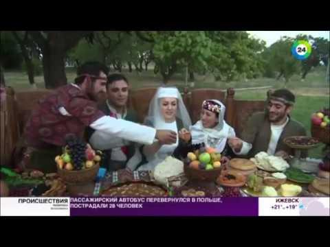 В Армении сыграли свадьбу по древним обычаям - МИР24
