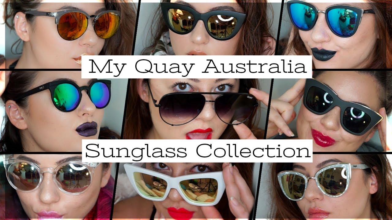 2b913297f4 My Quay Sunglass Collection - YouTube