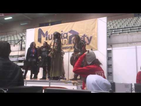 Murcia Lan Party 2013 exhibición musical