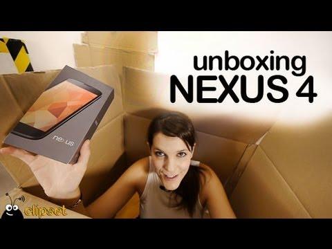 Google Nexus 4 Unboxing