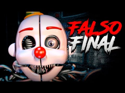 FIVE NIGHTS AT FREDDY'S SISTER LOCATION: FINAL OCULTO COMPLETADO - FAKE ENDING COMPLETE