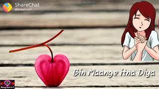 Kya khoob rabh ne kiya whatsapp status