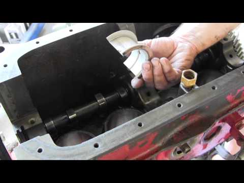 Ford Jubilee NAA Tractor Engine Rebuild Part 8 Camshaft and Crankshaft Installation