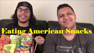 New Zealanders Eat American Snacks