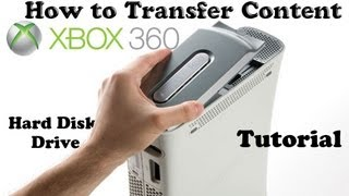 Tutorial: How To Transfer Content/Memory Xbox 360 from Old HDD to New HDD