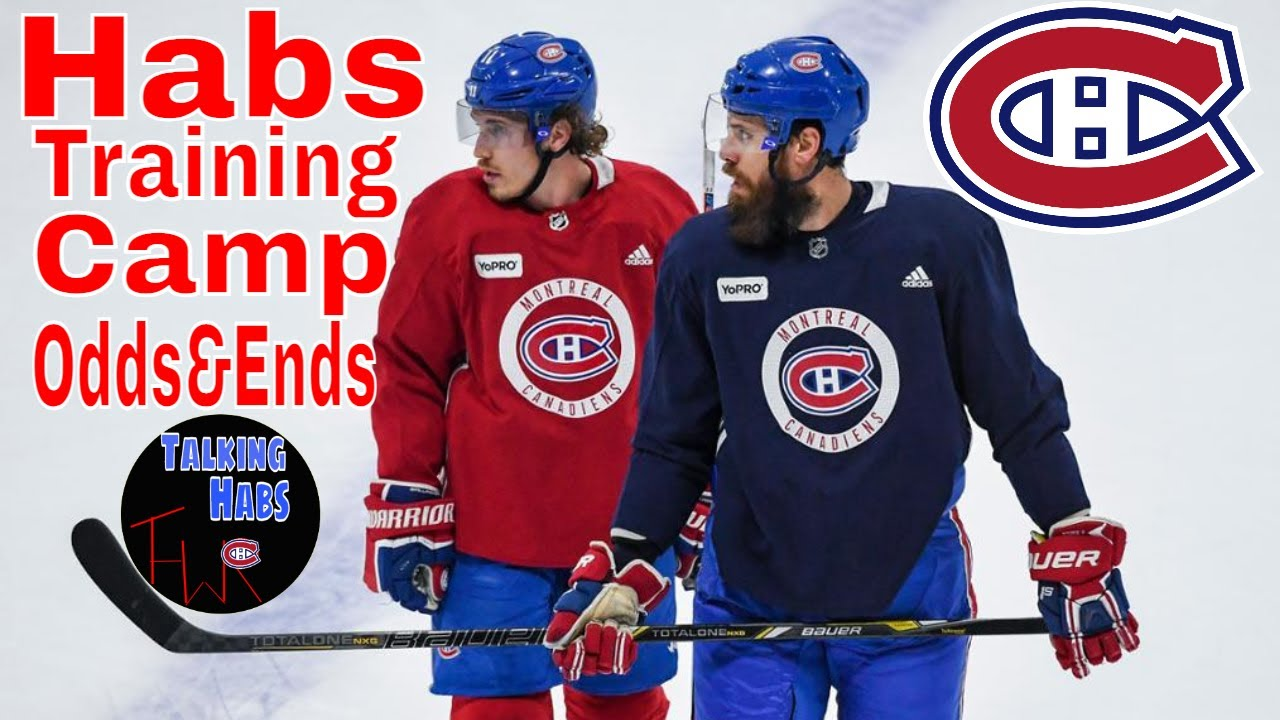 Montreal Canadiens 2021 Training Camp Odds Ends Youtube