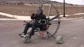 Paramotoring The Flat Top Air Trike!!! The NEW Powered Paragliding 25 lb Paramotor Gear! thumbnail