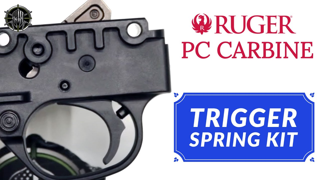 Ruger PC Carbine Trigger Spring Kit - Ruger PC Carbine Accessories M*CARBO