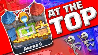 HIGHEST LEVEL GAMEPLAY  ::  Clash Royale  ::  IT'S HARD AT THE TOP