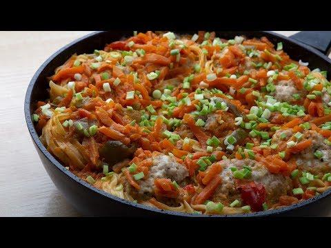 Вкусный, простой, легкий ужин для всей семьи «Одна сковорода»