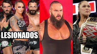 WWE Noticias: ¿Strowman abandonando WWE?, Rousey extraña WWE, Más lesionados