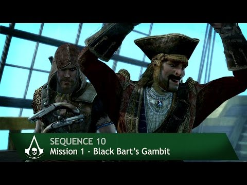 Assassin's Creed 4: Black Flag [100% Sync] Black Bart's Gambit [Sequence 10 - Mission 1]