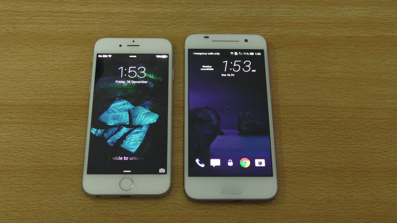 HTC One A9 vs iPhone 6 - Review! (4K)