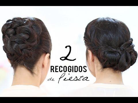 Recogidos de fiesta youtube - Peinados fiesta faciles ...