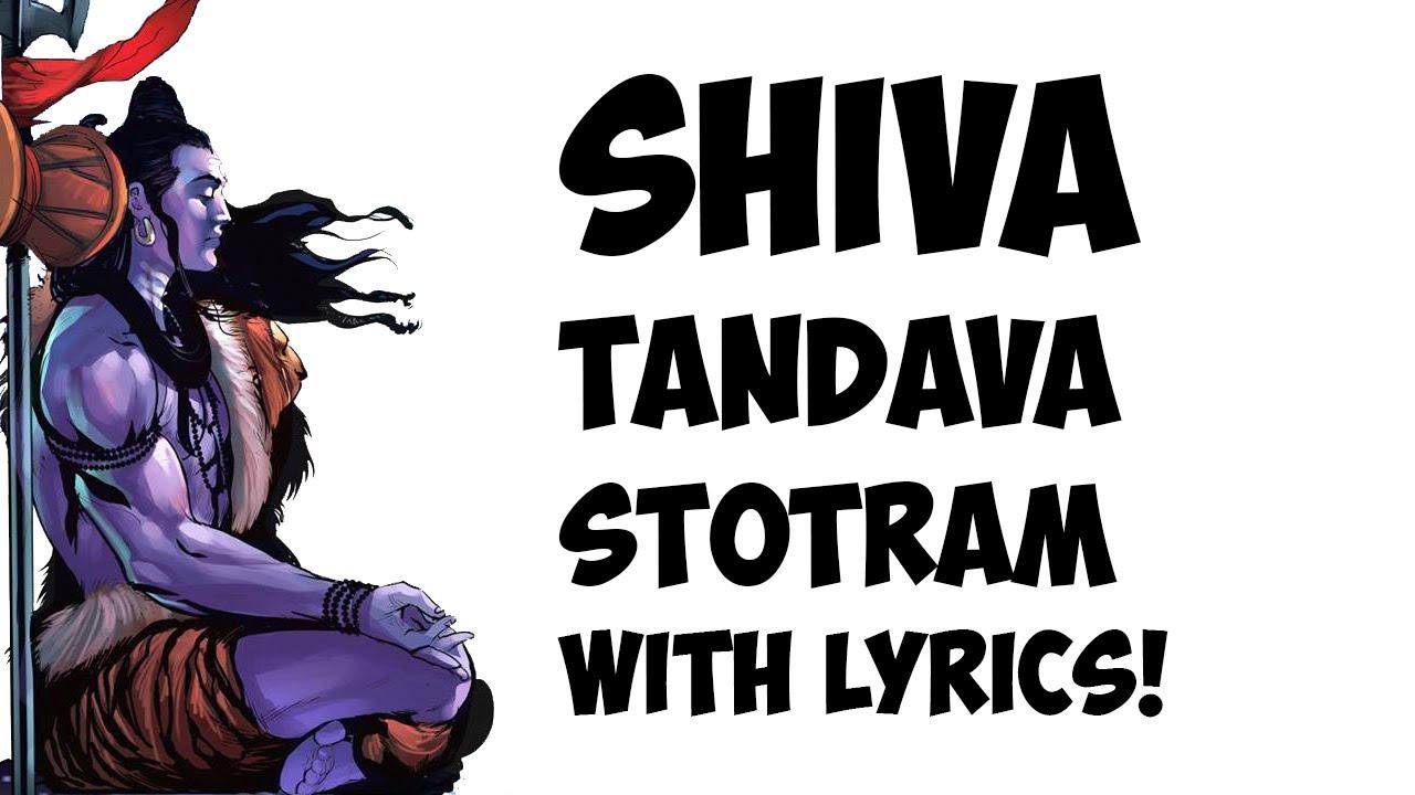 Shiv Tandav Stotram Lyrics In English Pdf