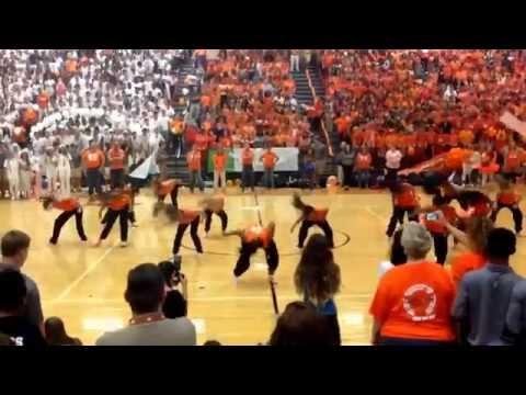 Mauldin High School Dance Team Hip Hop