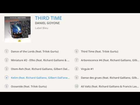 Daniel Goyone - Third Time