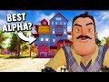 THE BEST ALPHA 1 REMAKE MOD EVER Hello Neighbor Mods Gameplay mp3