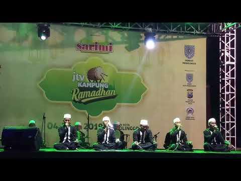 HAZALKA Tampil Di Acara Kampung Ramadhan (Alun Alun Kota Probolinggo) Tgl 9 Mei 2019